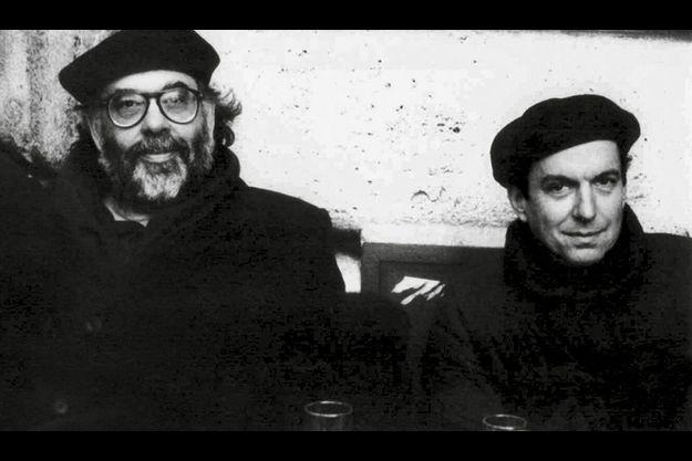 Francis Ford Coppola et Dean Tavoularis, déguisés en Français !