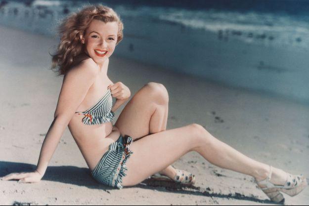 La comédienne Marilyn Monroe.