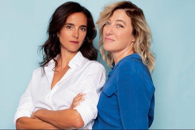Valeria Bruni Tedeschi et Charline Bourgeois-Tacquet