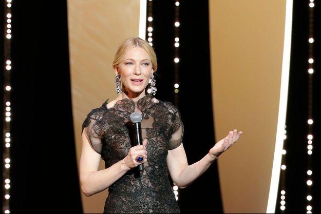 La présidente du jury Cate Blanchett lira une déclaration commune avec la réalisatrice Agnès Varda.