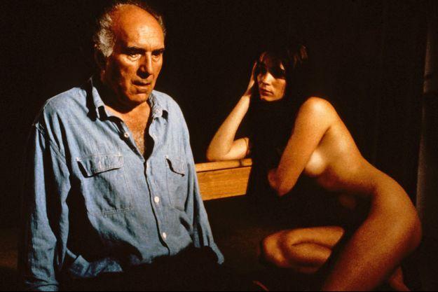 """Michel Piccoli et Emmanuelle Béart dans """"La Belle noiseuse"""""""