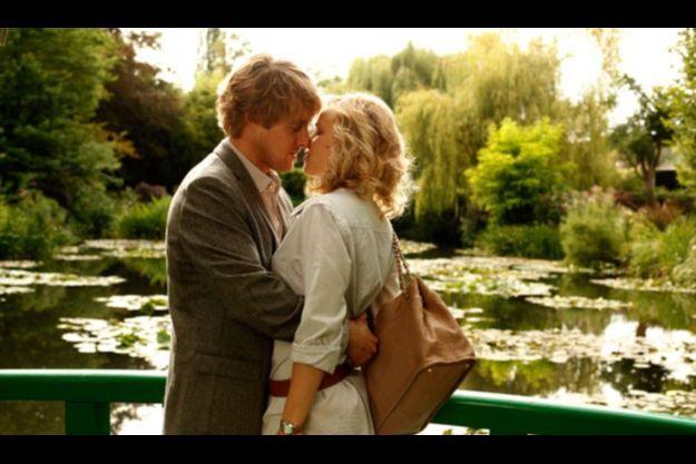 """Première photo de """"Midnight in Paris"""", avec Owen Wilson et Rachel McAdams."""