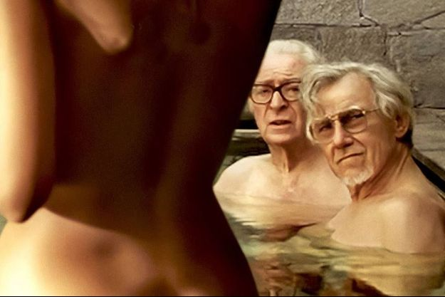 "Harvey Keitel et Michael Caine dans ""Youth"""
