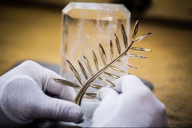 La fabrication de la Palme d'or nécessite pas moins de 40 heures de travail.