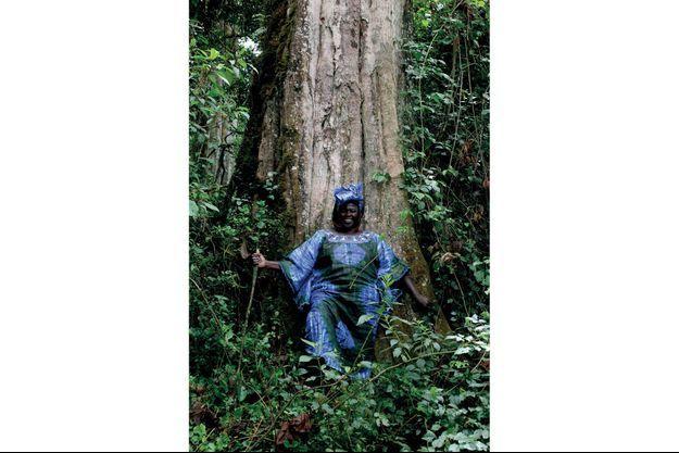 Wangari Maathai, protectrice de la forêt kenyane.