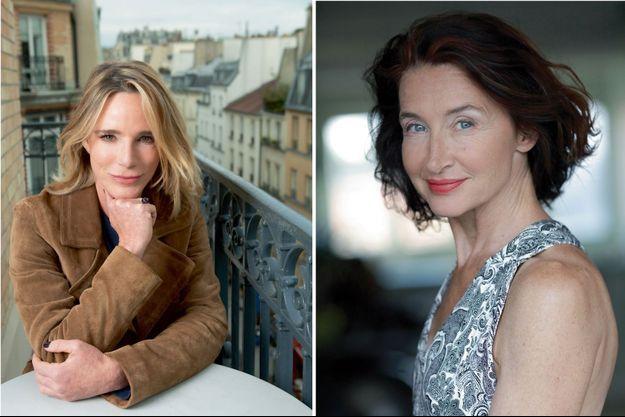 Géraldine Danon et Anne Brochet.