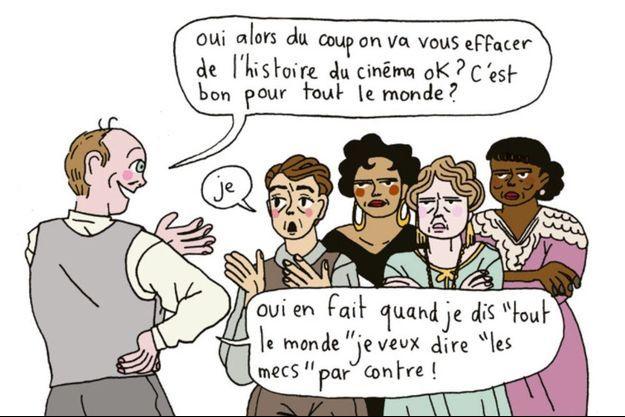 « Sous nos yeux. Petit manifeste pour une révolution du regard», d'Iris Brey et Mirion Malle, éd. La Ville brûle, 64 pages, 12 euros.
