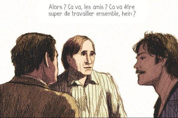 « Patrick Dewaere. A part ça la vie est belle », de Maran Hrachyan et Laurent-Frédéric Bollée, éd. Glénat, 22 euros.