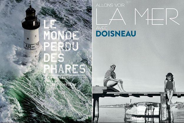 « Le monde perdu des phares », Editions de La Martinière, 256 pages, 35 euros et « Allons voir la mer avec Doisneau », éd. Glénat, 224 pages, 35 euros.