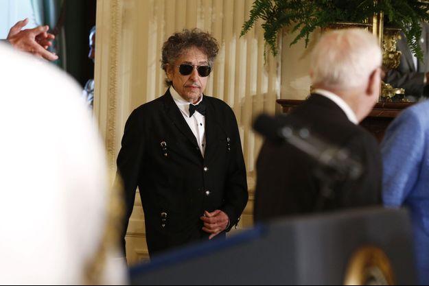 Bob Dylan à la Maison Blanche en 2012.