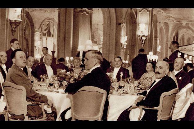 Le dîner d'assemblée générale du 7 décembre 1938.