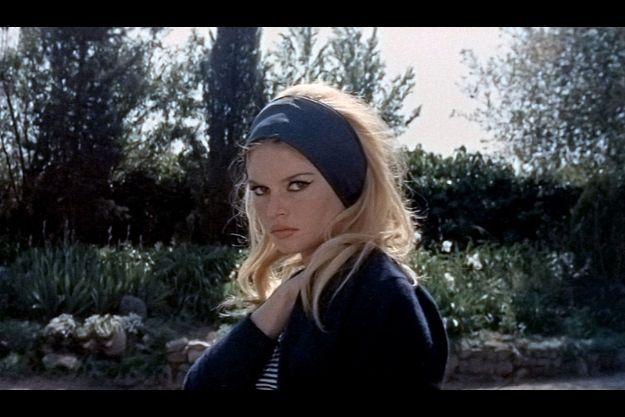 """Brigitte Bardot dans """"Le mépris""""."""