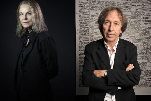 Camille Laurent et Pascal Bruckner (montage)