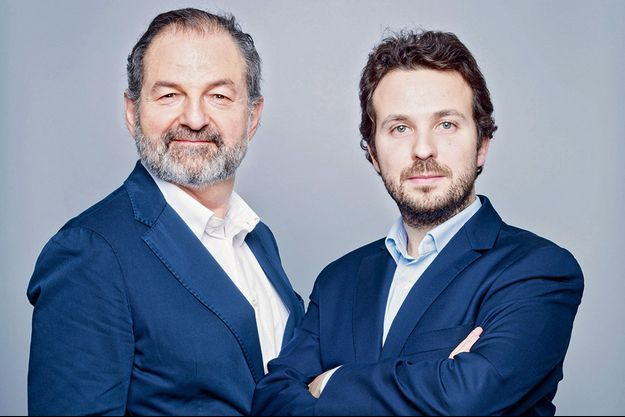 Denis Olivennes et Mathias Chichportich