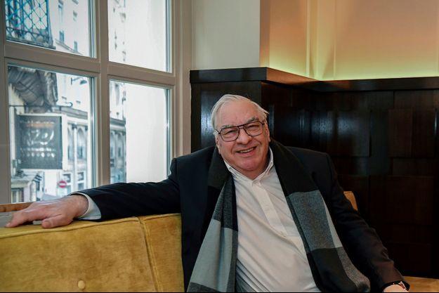 Didier Decoin élu président de l'Académie Goncourt