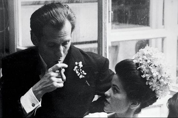 Leur mariage, à Paris, le 2 avril 1962. Elle a 24 ans, lui 37. Elle est la fille de Ferdinand Béghin, l'empereur du sucre qui a inspiré le rôle de Jean Gabin dans « Les grandes familles ».