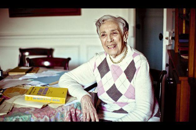 L'historienne a débuté son oeuvre en 1962, la Ve République n'a alors que quatre ans.