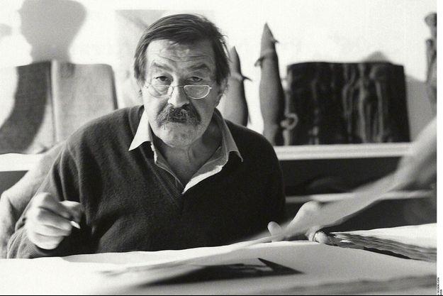 Portrait de Günter Grass