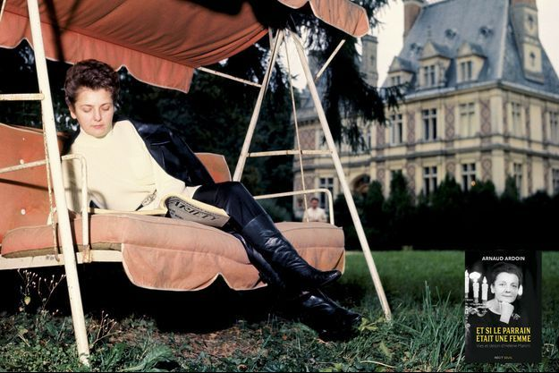 Dans son château de Villemenon, à Servon, en 1963.