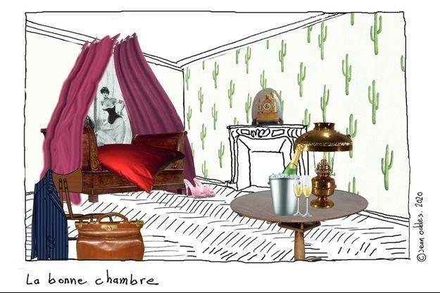 """Madame rêve en Bovary"", maison Marrou et Opéra de Rouen."
