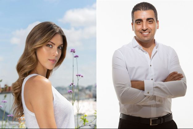 Iris Mittenaere et Ouadih Dada, présentateur vedette au Maroc. (montage)