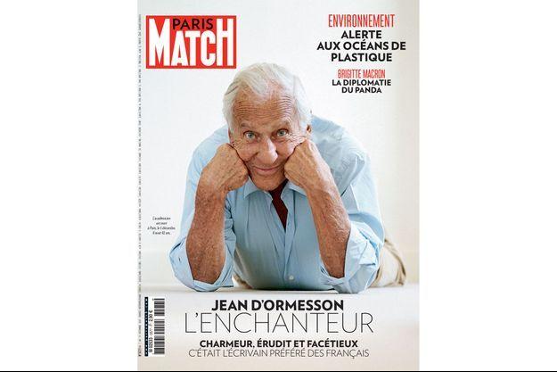 La couverture du numéro 3577 de Paris Match