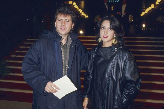 Daniel Balavoine et Corinne, les parents de Joana, aux Victoires de la musique en 1985.