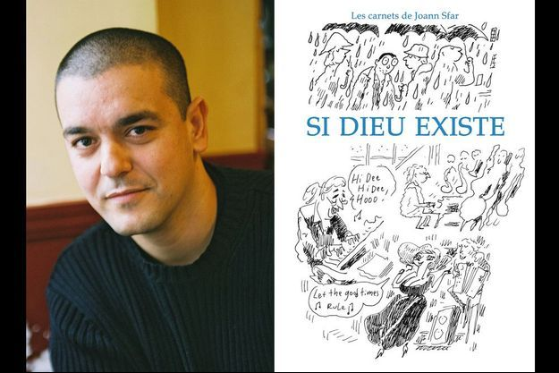 """Joann Sfar et la couverture de """"Si Dieu Existe»"""