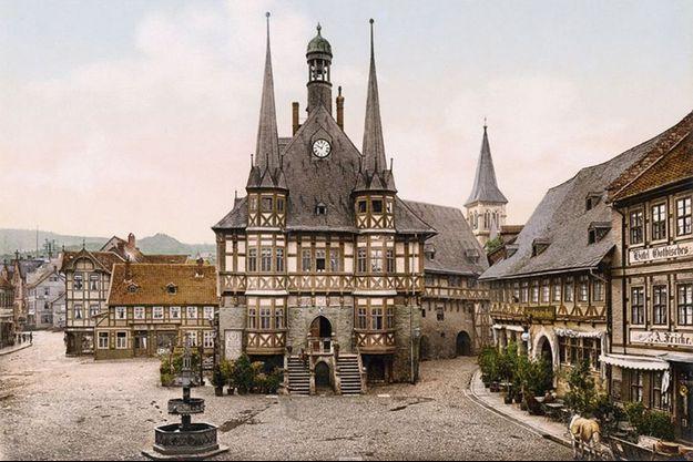 Wernigerode, Town Hall.