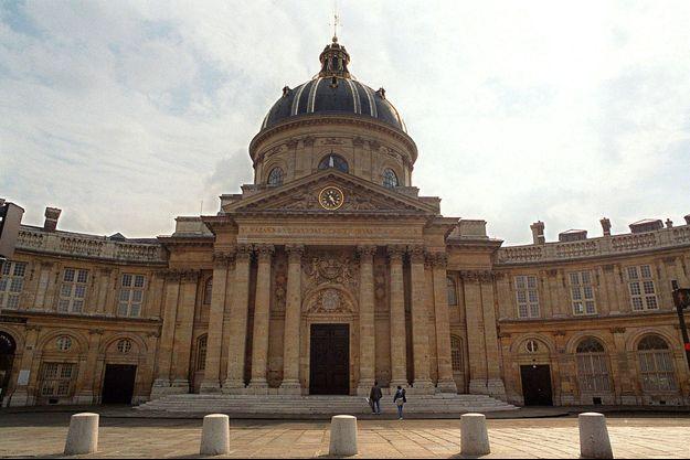 L'Académie française, à Paris.