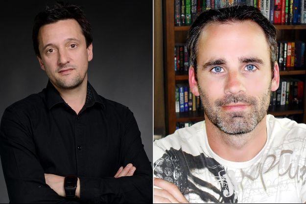 Jacky Schwartzmann et Paul Cleave, à d.