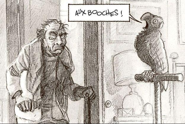 « La cavale du Dr Destouches », de Christophe Malavoy, Paul et Gaëtan Brizzi, éd. Futuropolis, 17 euros.