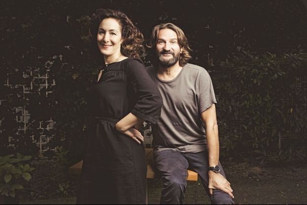Joanna Smith Rakoff et Frédéric Beigbeder.