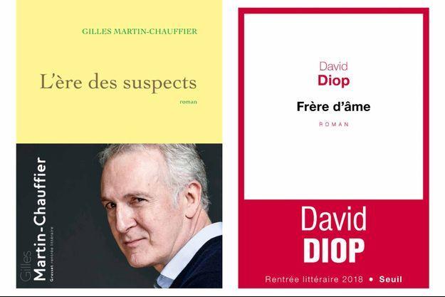 """""""L'Ere des suspects"""" et """"Frère d'armes"""", deux livres sélectionnés dans la première liste du prix Goncourt."""