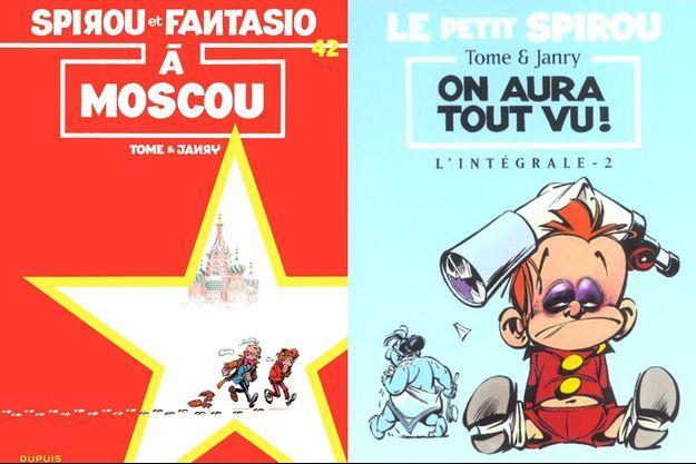 Deux albums scénarisés par Philippe Tome