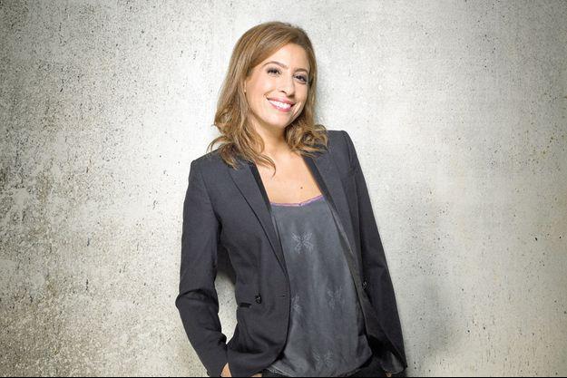 Léa Salamé répond aux questions de Paris Match