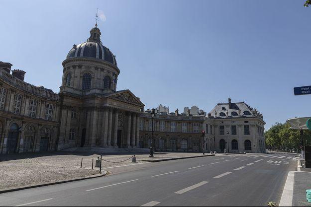 L'Institut de France, à Paris.