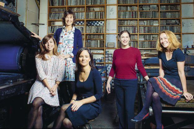 Véronique Cardi, Sophie de Sivry, Elsa Lafon, Sophie de Closets et Anna Pavlowitch.