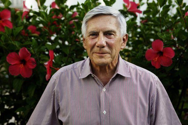 Jean-Marc Simon fut ambassadeur de France en Afrique pendant près de 40 ans , ici en avril 2011 en Cote d'Ivoire