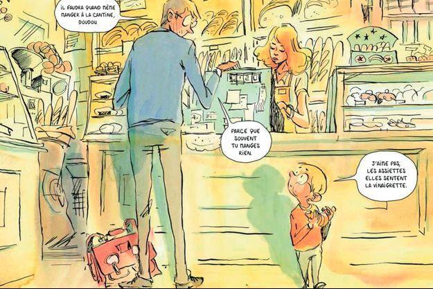 « Ma maman est bizarre », de Camille Victorine et Anna Wanda Gogusey, éd. La Ville brûle, 44 pages, 15 euros.