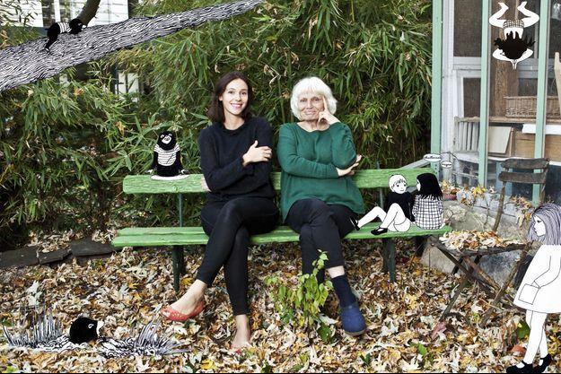 Lolita Séchan & Agnès Rosenstiehl : bulles d'enfance