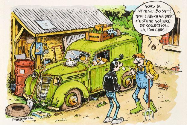 « Voitures de collection », 1981.