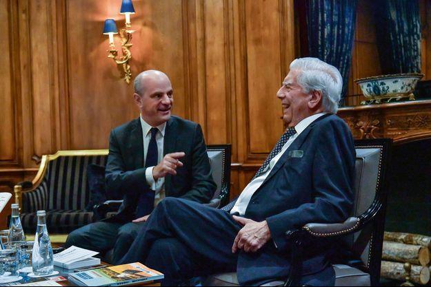 Jean-Michel Blanquer et Maria Vargas Llosa