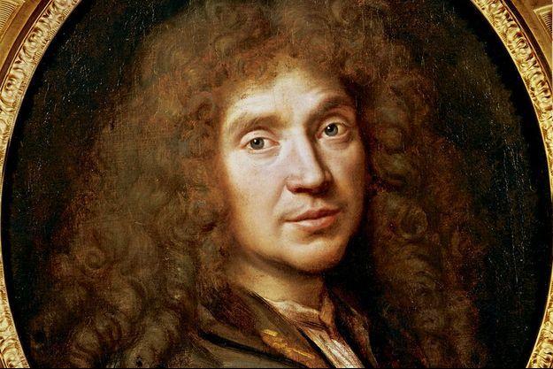 Portrait de Molière de 1658.