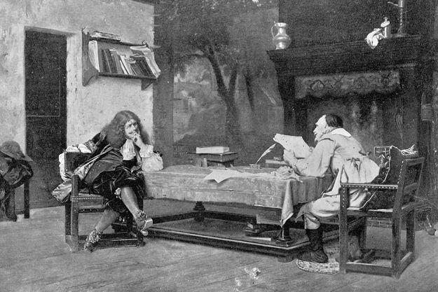 Molière et Corneille.