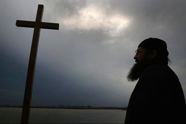 Un moine orthodoxe du mont Athos