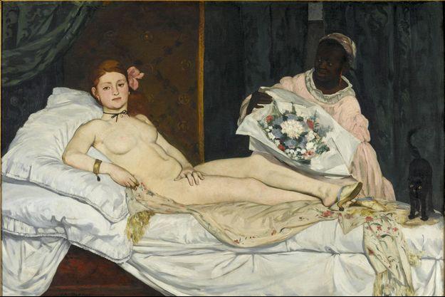 « Olympia », le célèbre tableau d'Edouard Manet peint en 1863.