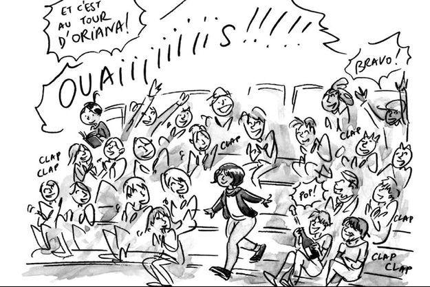 """""""LAP !"""" d'Aurélia Aurita."""