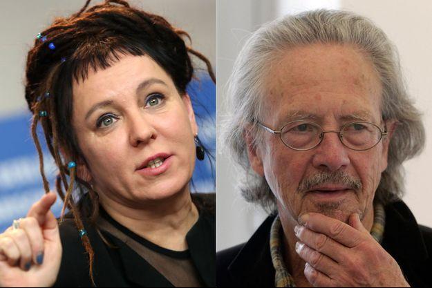 Olga Tokarczuk et Peter Handke