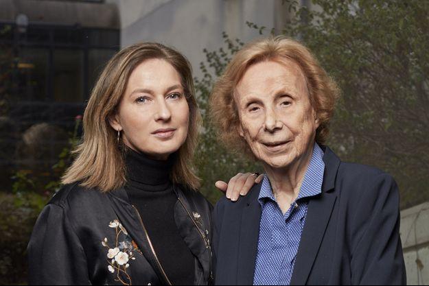 Olivia de Lamberterie et Elisabeth de Fontenay